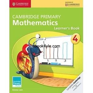 Cambridge Primary Mathematics 4 Learner's Book