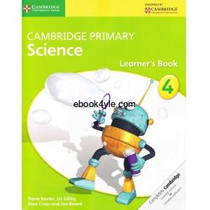 Cambridge Primary Science 4 Learner's Book