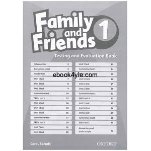 Family and Friends 1 Testing and Evaluation Book