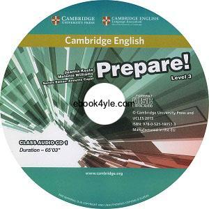 Prepare! 3 Class Audio CD1