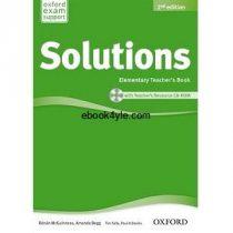 Solutions Elementary Teacher's Book 2nd