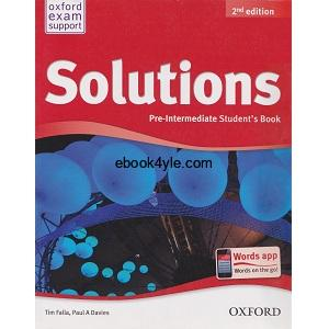 Solutions Pre-Intermediate Student's Book 2nd
