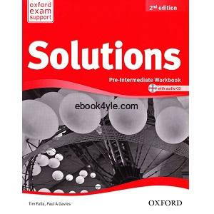Solutions Pre-Intermediate Workbook 2nd