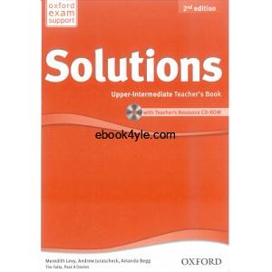 Solutions Upper-Intermediate Teacher's Book 2nd