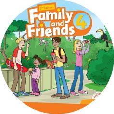 Family and Friends 4 2nd Edition Class Audio CD3