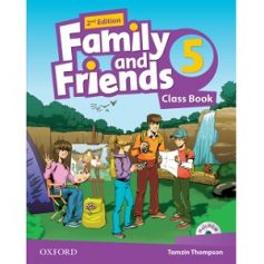 Family and Friends 5 Class Book 2nd Edition