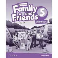 Family and Friends 5 Workbook 2nd Edition