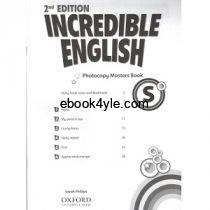 Incredible English Starter Photocopy Masters Book 2nd Edition