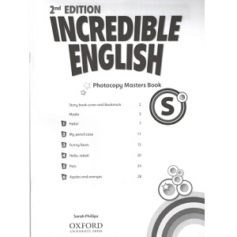Incredible English Starter Photocopy Masters Book 2nd Edition