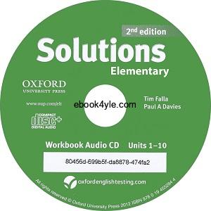 Solutions Elementary 2nd Workbook Audio CD