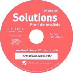 Solutions Pre-Intermediate  2nd Workbook Audio CD