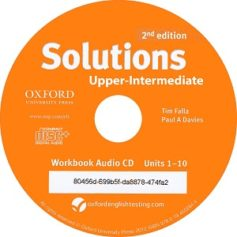 Solutions Upper-Intermediate  2nd Workbook Audio CD