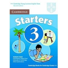 Cambridge YLE Tests Starters 3 Student Book