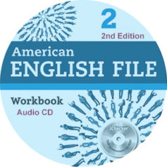 American English File 2 2nd Edition Workbook Audio CD