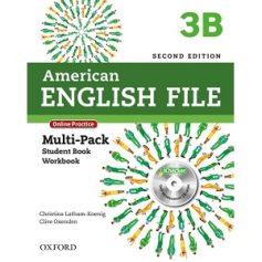 American English File 3B Student Book Workbook 2nd Edition