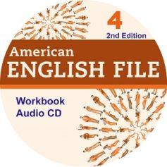 American English File 4 2nd Edition Workbook Audio CD