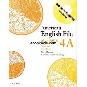 American English File 4A Student Book – Workbook