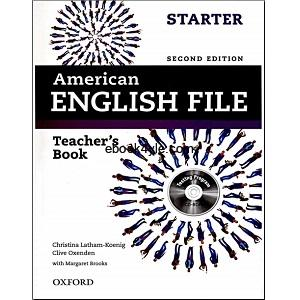 American English File Starter Teacher's Book 2nd Edition