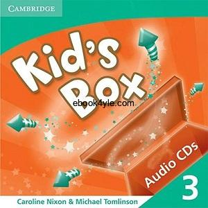 Kid's Box 3 Class Audio CD1