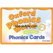 Oxford Phonics World 2 Phonics Cards FlashCards