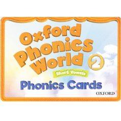 Oxford Phonics World 2 Phonics Cards FlashCards