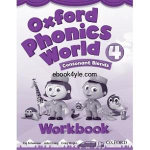 Oxford Phonics World 4 Consonant Blends Workbook