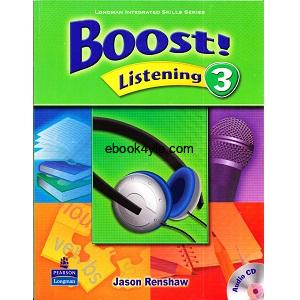 Boost! Listening 3 Student Book