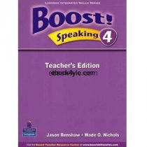 Boost! Speaking 4 Teacher's Edition
