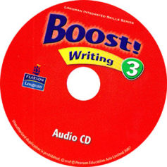 Boost! Writing 3 Audio CD