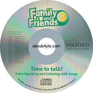 Family and Friends 3 American Edition Student CD Time to talk
