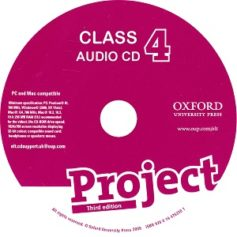 Project 4 3rd Edition Class Audio CD 2