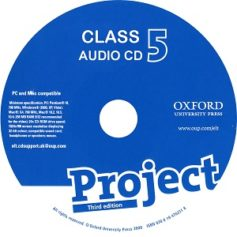 Project 5 3rd Edition Class Audio CD 1