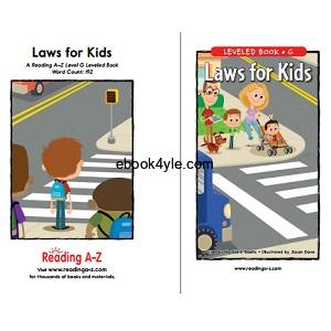 Reading A-Z Level G- Laws for Kids