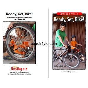 Reading A-Z Level G- Ready, Set, Bike