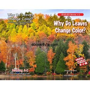 Reading A-Z Level G- Why Do Leaves Change Color