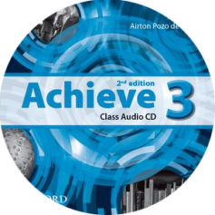 Achieve 3 2nd Edition Class Audio CD