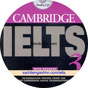 Cambridge IELTS 3 Class Audio CD