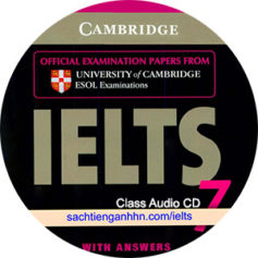 Cambridge IELTS 7 Class Audio CD 2