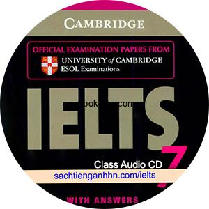Cambridge IELTS 7 Class Audio CD
