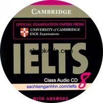 Cambridge IELTS 8 Class Audio CD 2
