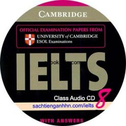 Cambridge IELTS 8 Class Audio CD 2