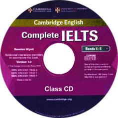 Complete IELTS Bands 4-5 Class Audio CD 1