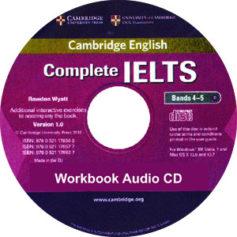 Complete IELTS Bands 4-5 Workbook Audio CD