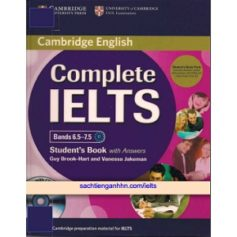 Complete IELTS Bands 6.5 – 7.5 Student's Book