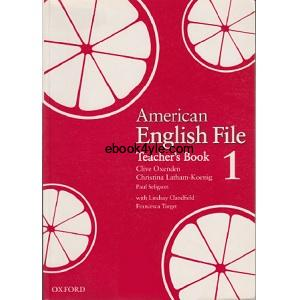 American English File 1 Teacher's Book