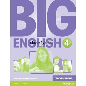 Big English British 4 Teachers Book