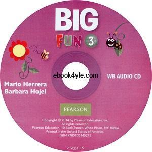 Big Fun 3 Workbook Audio CD