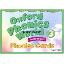 Oxford Phonics World 3 Phonics Cards FlashCards