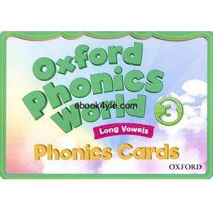 Oxford Phonics World 3 FlashCards