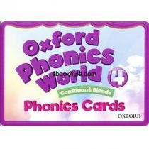 Oxford Phonics World 4 Phonics Cards FlashCards